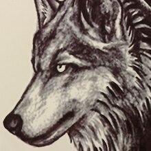 Wolf Tattoo Sticker