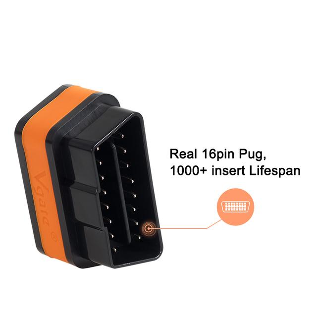 Vgate iCar2 ELM327 obd2 Bluetooth scanner elm 327 V2.1 obd 2 wifi icar 2 auto diagnostic scanner for android/PC/IOS code reader