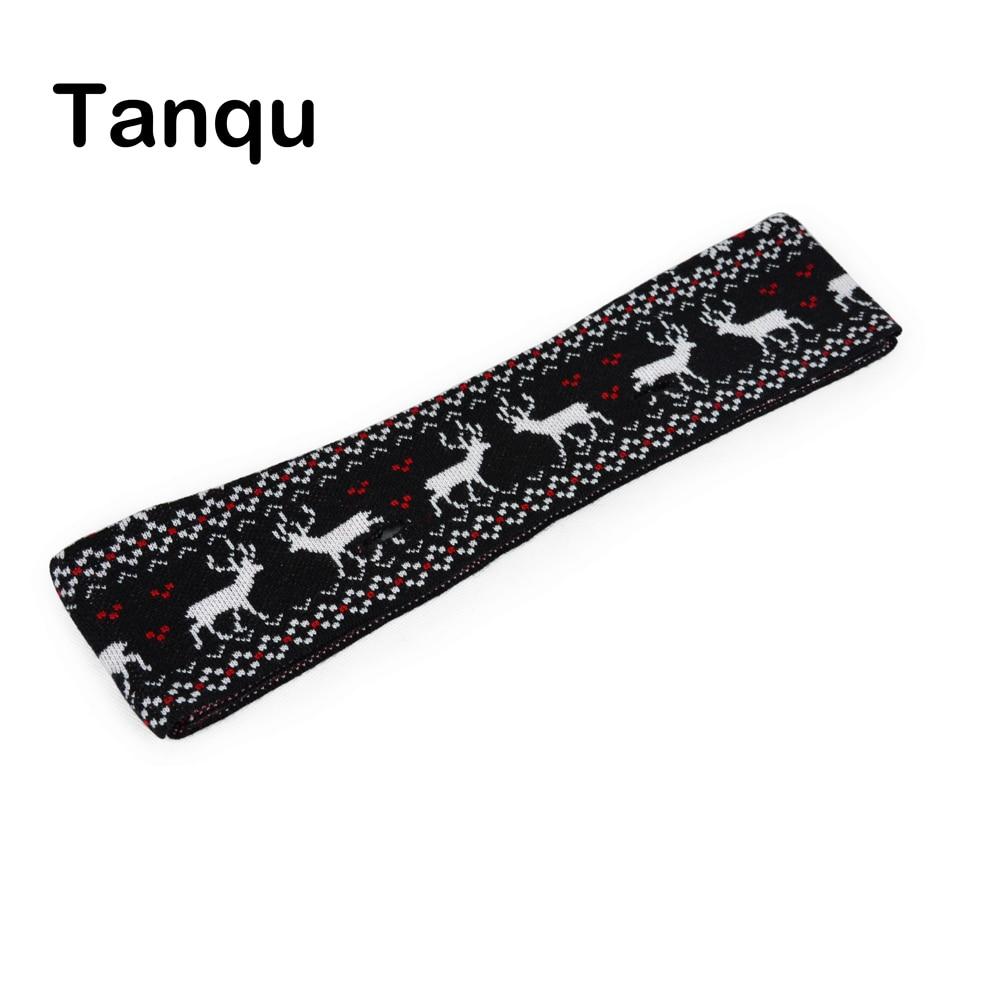 TANQU Classic Big Jacquard Wool Trim Knit Trim For Classic O BAG Body Obag Accessory
