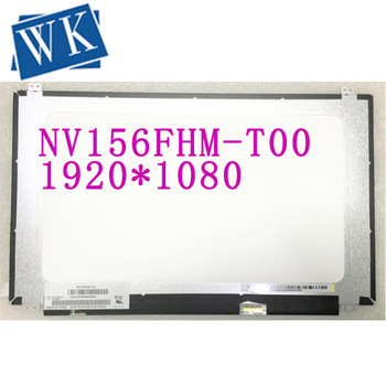 Free shipping NV156FHM-T00 15.6'' inch Laptop LCD SCREEN 1920*1080 with EDP 40pin