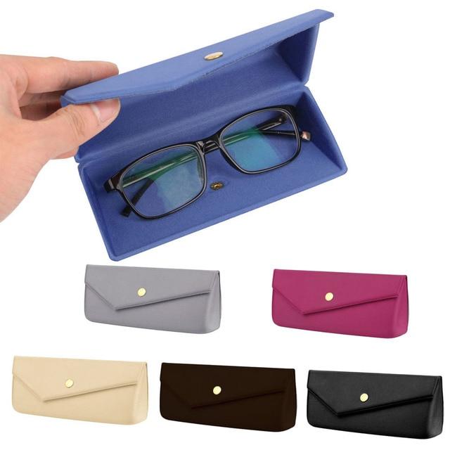 5ace13654687f Óculos de Sol da moda Óculos de Leitura Estojo Protetor Caixa Dura ...