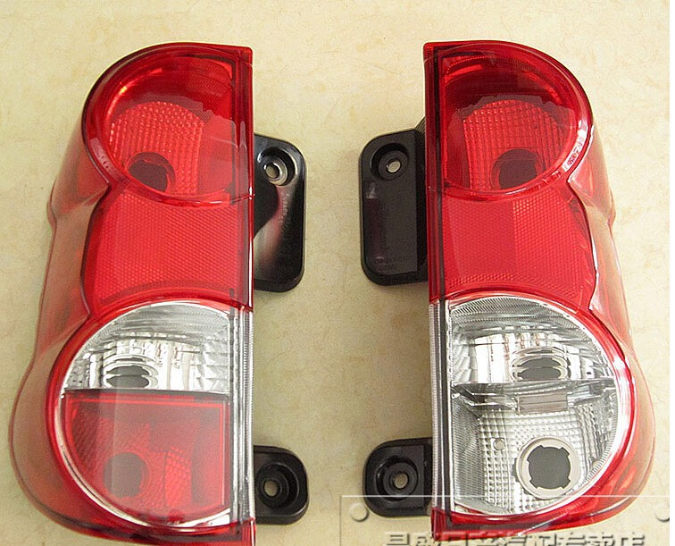 A Pair/2pcs Left and Right Rear Lights with Wire harness ,Lamp holder and Bulb for Nissan NV200 26550-JX00A 2pcs left