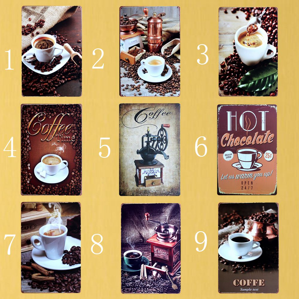 Contemporary Coffee Metal Wall Art Ideas - Wall Art Collections ...