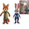 Zootopia Plush Toys Dolls 22CM/33CM Rabbit JUDY Hopps or FOX NICK for Kids Baby Christmas/Birthday Gift