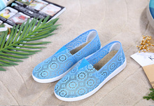 Новые летние плоские Обувь Женские повседневные туфли на плоской подошве открытый Для женщин один Обувь для отдыха дышащая Для женщин прогулки Обувь