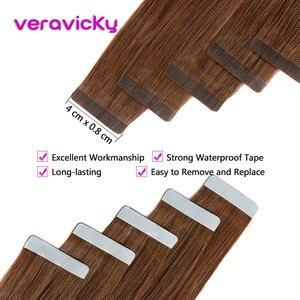 Image 4 - Remy лента для наращивания человеческих волос для наращивания на всю кутикулу натуральные волосы невидимая Кожа Уток накладные волосы для салона Волосы