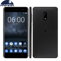 2017 Original New Nokia 6 4G LTE Mobile Phone Android 7 0 Octa Core 5 5