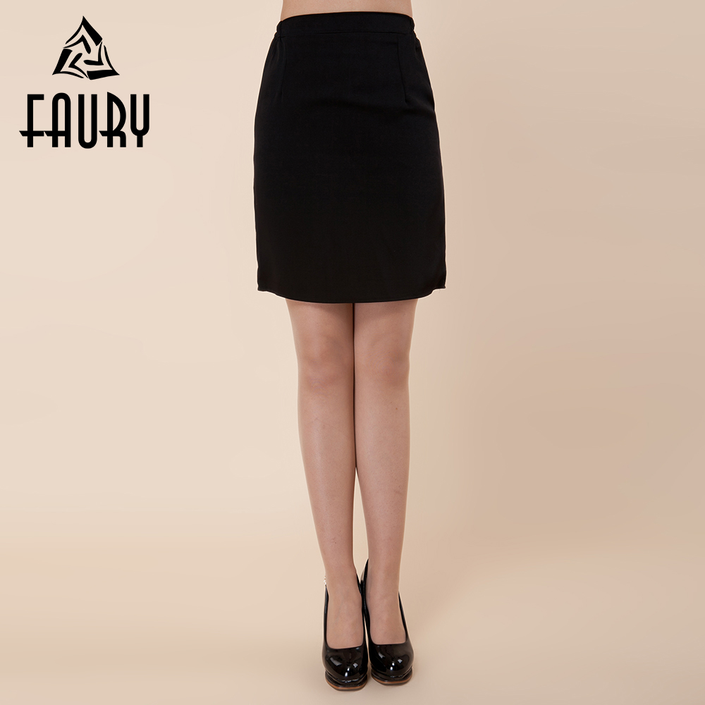 Women Black Sexy Short Skirt Work Wear Waitress Restaurant Hotel Food Service Catering Uniforms Pencil Skirt Package Hip Skirts