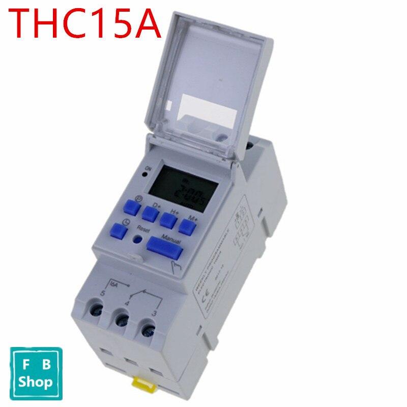 GüNstiger Verkauf Dc12v Ac220v Digital Lcd Wöchentlich Programmierbare Zeit Schalter Relais Elektronische Timer Online Rabatt Werkzeuge Messung Und Analyse Instrumente