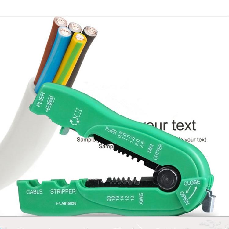 Marca Mini pinza Wire Stripper Cavo multifunzione Wire Stripper Pinze - Utensili manuali - Fotografia 3