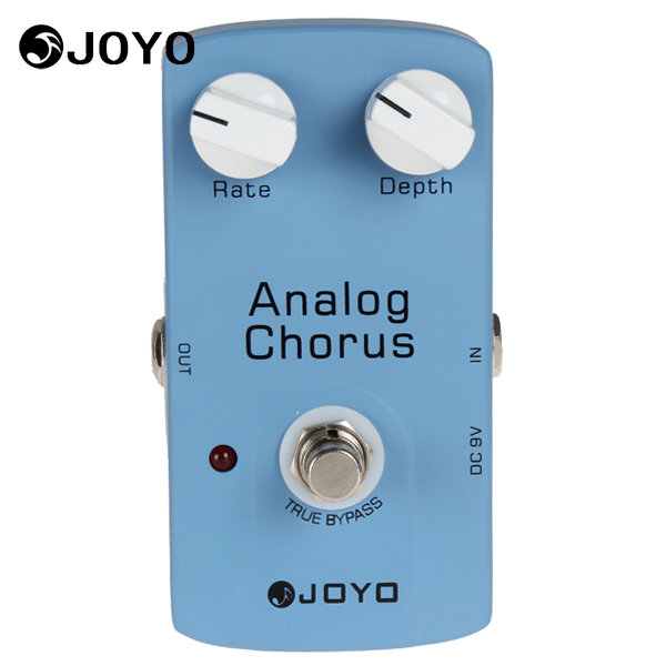 JOYO JF-37 Analog Chorus Electric Guitar Audio Effect Pedal Box True Bypass Musical Instrument Guitar Accessories joyo jf 37 analog chorus electric guitar effect pedal true bypass design adjustable tone
