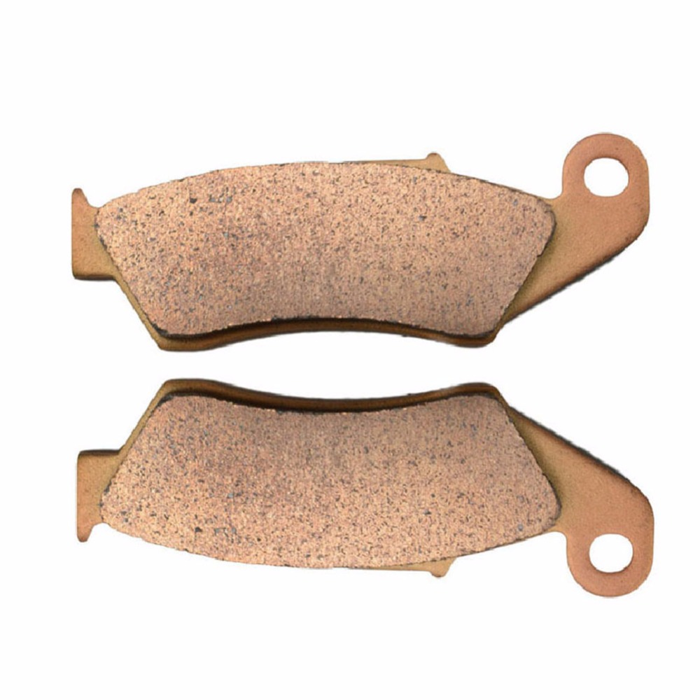 Motobike Front disks Sintered Copper FA185 Motorcycle Brake Pads For HONDA CRF 250 R4/R5/R6/R7/R8/R9/RA/RB 04-11 sintered copper motobike disks fa379 motorcycle brake pads for kawasaki z 1000 sx zr 1000 gbf 2011