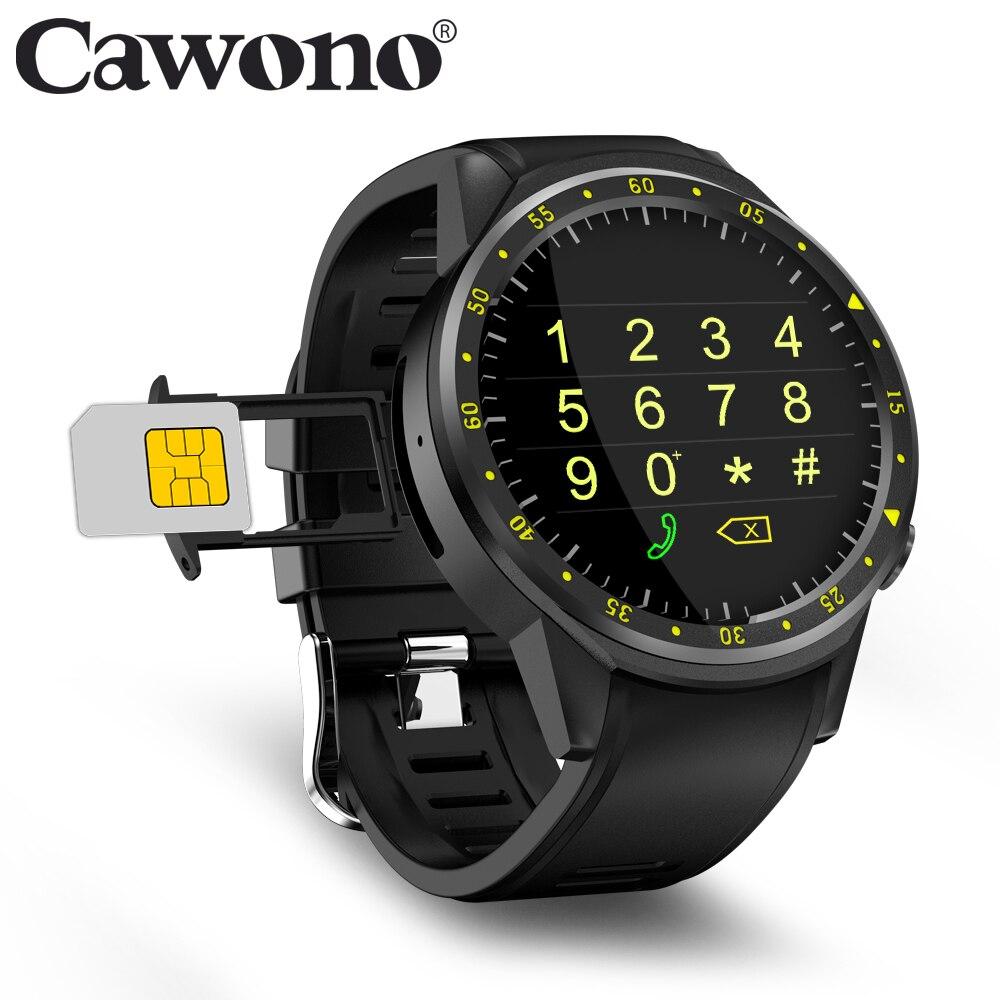 Cawono CN1 GPS Sport montre intelligente avec caméra altimètre Smartwatch Support carte Sim montre-bracelet de fréquence cardiaque pour téléphones IOS Android