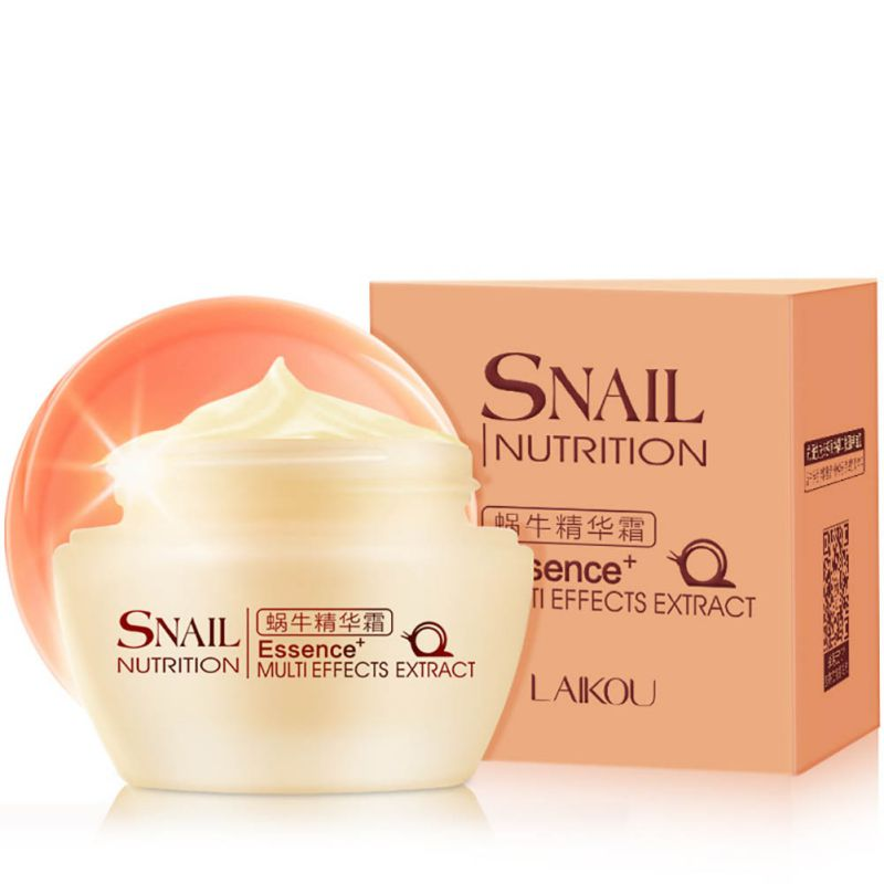 New Arrival Essence Snail Face Repairing Cream Whitening Moisturize wrinkle Skin Care 50g ZT47 Hot!!