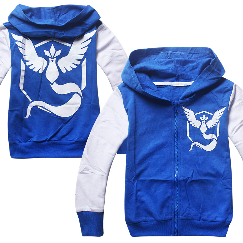 new product 20089 2c469 4 8 Y boys Pokemon jacket coat hooded hoodie costume for boy ...