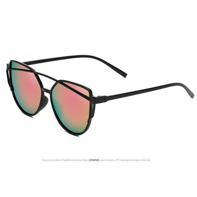 Women 8 Colour Cat Eye Sunglasses Double-Deck Frame