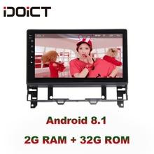 IDOICT Android 8,1 ips 2 г + 32 г 8 ядерный автомобильный dvd-плеер gps навигация Мультимедиа для Mazda 6 радио 2002-2008 стерео
