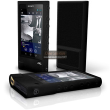 BLACK Silicone Gel Skin Case for Sony Walkman NW-ZX2 Rubber Cover(China)