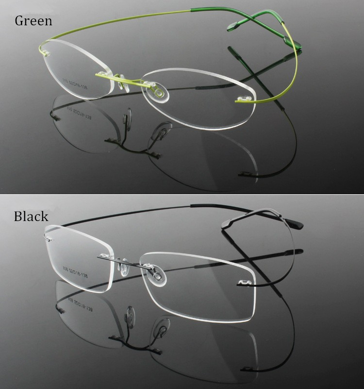 rimless optical glasses (8)