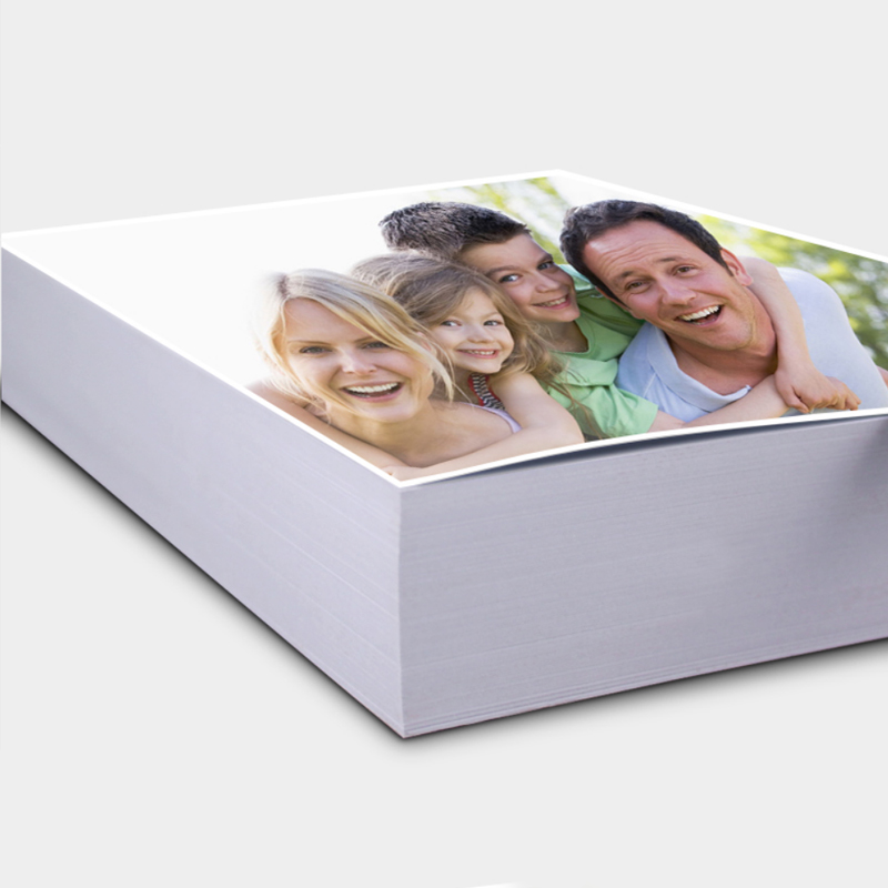 100 Pcs 6 Inch 230g Glossy Photo Paper Inkjet Printing Photo Paper Color Printing Single-Sided Coated For Home Printing