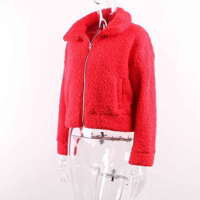 Teddy coat women14
