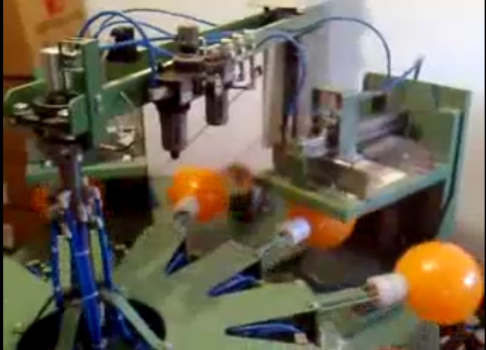 Automatic 2 Color Balloon Printing Machine,automatic Balloon Printing Machine