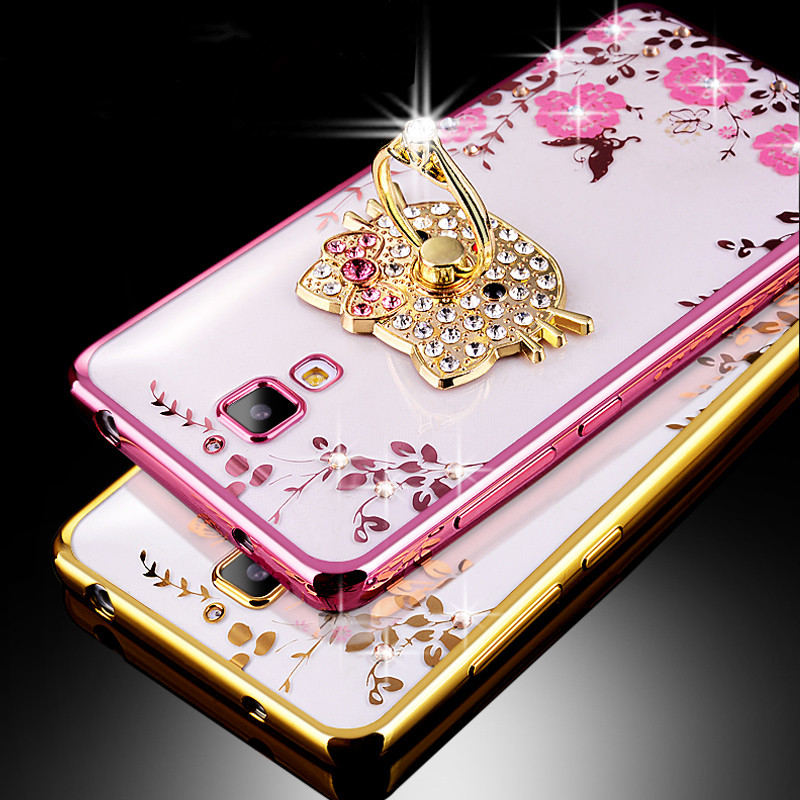 2016 For Xiaomi Mi4 Case Luxury Plating Gilded TPU silicone soft Back Cover Accessory Coque Fundas For Xiaomi Mi 4