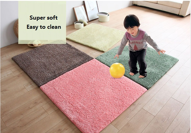 Wholesale Anti-slip Soft Memory Japan Style Tatami Carpets for Living Room Floor Mats shaggy velvet Carpet Area Rug Room UD050