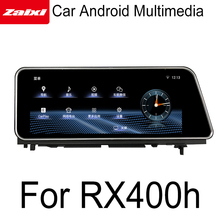 ZaiXi For Lexus RX 400h RX400h 2015~2018 Android Car GPS Navigation Map multimedia player HD Screen Stereo radio WiFi system yessun for lexus al20 rx 300 rx 200t rx 450h 2015 2018 car android carplay gps navi maps navigation player radio stereo no dvd