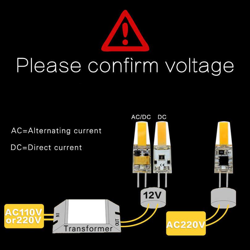10pcs/lot  LED G4 G9 Lamp COB 1505 Bulb AC/DC 12V AC220V 6W 9W COB SMD LED Lighting Lights replace Halogen Spotlight Chandelier