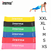 ITSTYLE Resistance Bands 6 Levels Exercises Elastic Fitness Training Yoga Loop Band Workout Pull Rope With Strength Test Video(China)