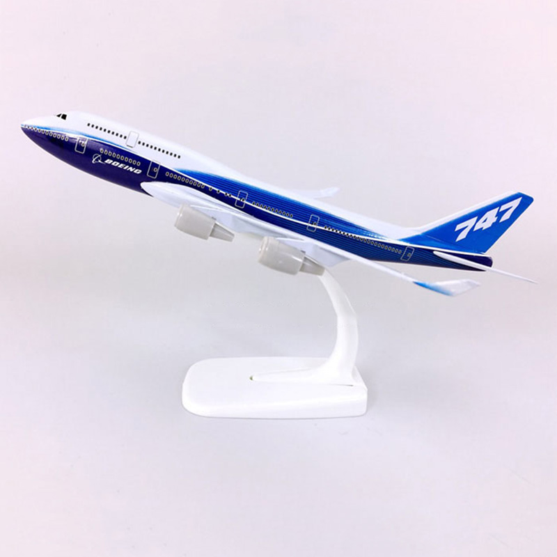20CM 1/300 Scale Hobby collectible Boeing787 airlines model alloy display toy airplaneB 787 aircraft collectionkids children toy