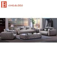 Высокое качество Винтаж кожа классический Честерфилд диван для Гостиная