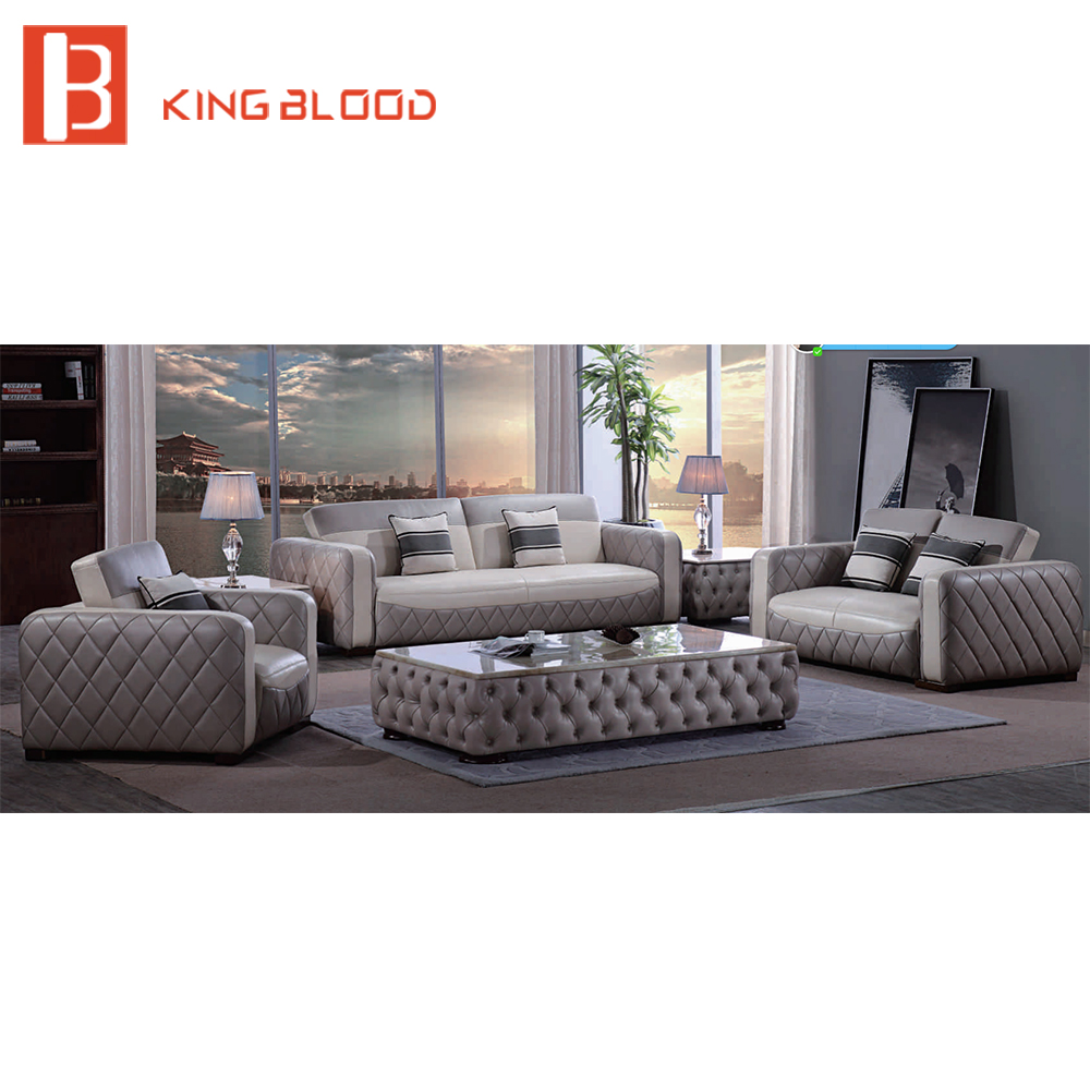 US $5459.0 |High Quality Vintage Leather Classic Chesterfield Sofa for  Living Room-in Living Room Sofas from Furniture on AliExpress