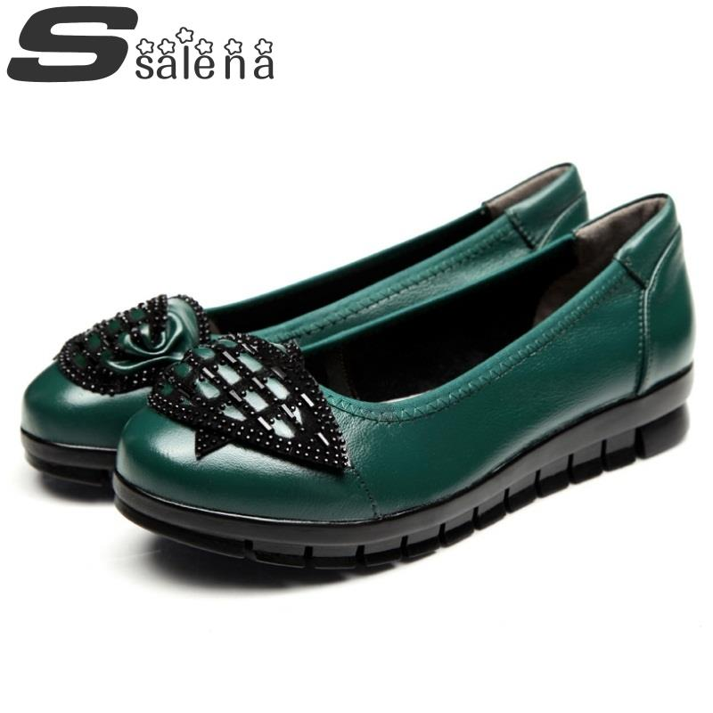 Profonde Simples En Chaussures Mocassins Taille Like Appartements 40 Bouche Printemps 2016 Peu Femmes Like Respirant Véritable Picture as Cuir Automne 35 As B2194 Et qO4x76n