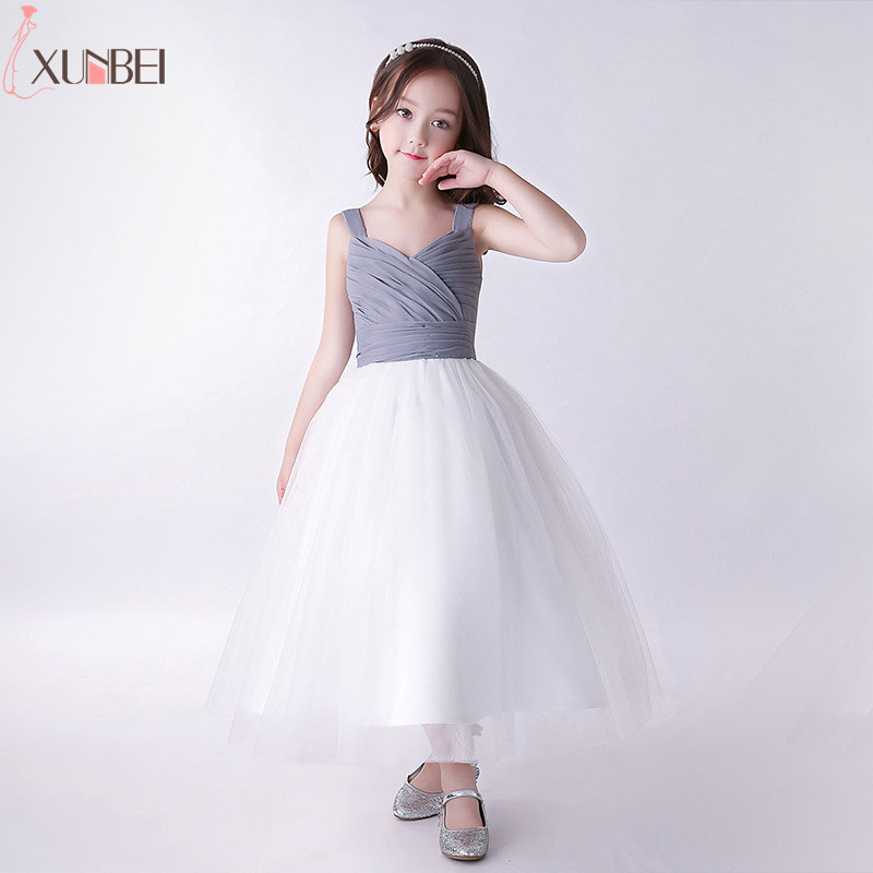 Simple   Flower     Girl     Dresses   2018 Pageant   Dresses   For   Girls   Kids Evening Gowns First Communion   Dresses   vestidos infantil de festa