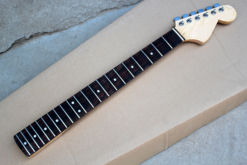factory custom electric guitar scalloped neck with big headstock 21 frets rosewood fretboard. Black Bedroom Furniture Sets. Home Design Ideas