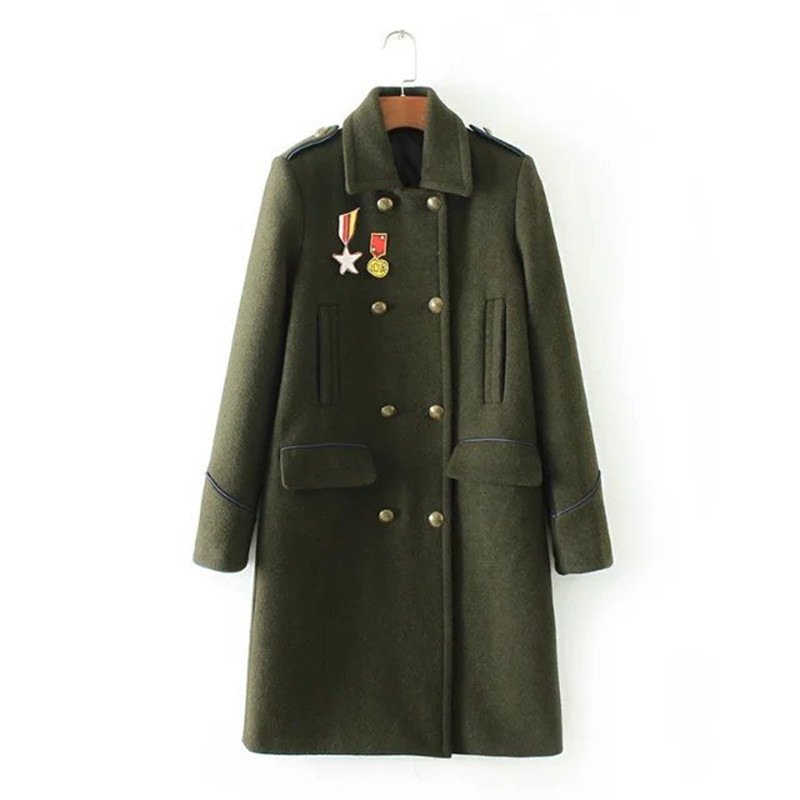 Ladies Military Wool Coats Promotion-Shop for Promotional Ladies ...