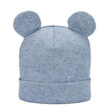 Bnaturalwell/детская шапка; хлопковая вязаная шапочка для маленьких мальчиков и девочек; сезон весна-осень-зима; теплая хлопковая шапочка; H108S