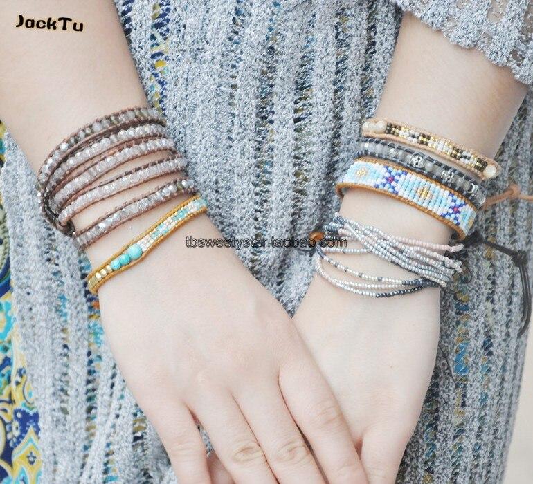 Exclusive Seed Beads Bohemia Weaving Brazilian Bracelet 4