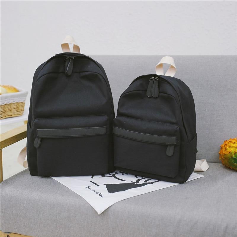 HTB1MSWrXPnuK1RkSmFPq6AuzFXaW 2019 Women Canvas Backpacks Ladies Shoulder School Bag Backpack Rucksack for Girls Travel Fashion Bag Bolsas Mochilas Sac A Dos