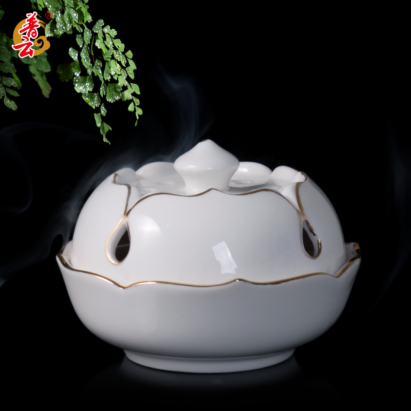 2018 Top Fashion Ceramic Disc Censer Bedroom Sweet Fume Aroma Stove Antique Tower Present Chen Xiang Ta Small Incense Inserted evans v dooley j fairyland 4 my junior language portfolio