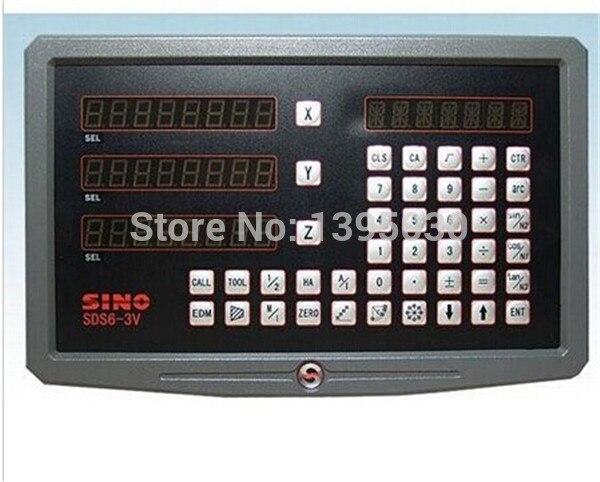 1 шт. Высокоточный Sino 3 оси Цифровой индикация/цифровой дисплей для машин