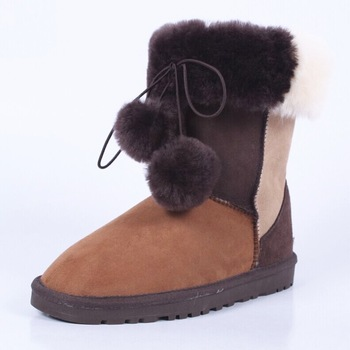 2018 NEW Winter Warm martin boots Thickened Fur High Heel Boots Women Shoes Fashion Sexy Long snow boots size