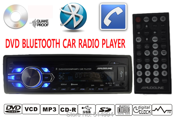 2015 new car dvd cd mp3 radio player support bluetooth. Black Bedroom Furniture Sets. Home Design Ideas