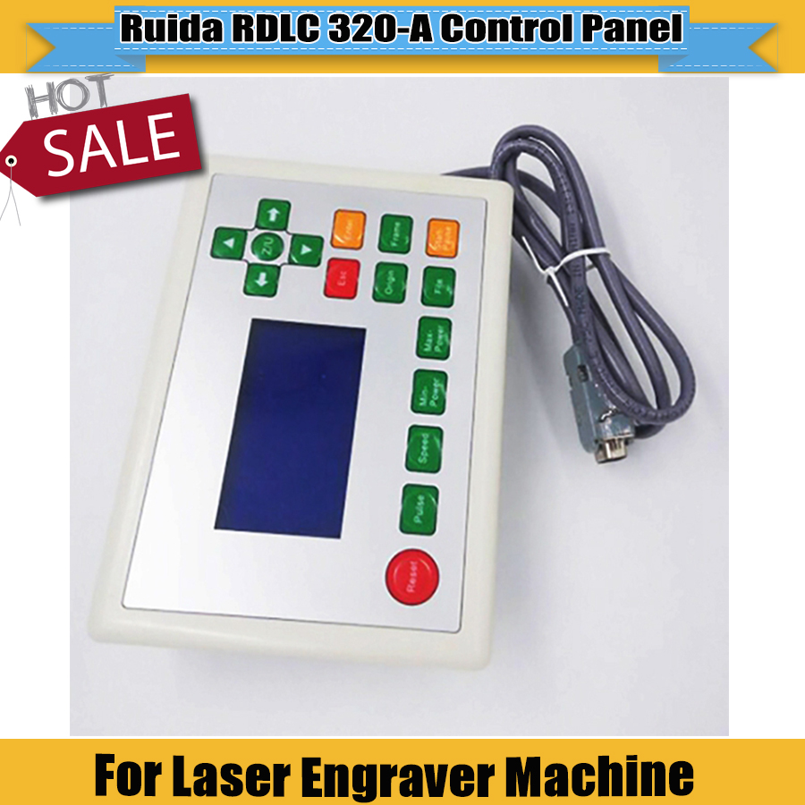 Hot Sell Ruida RDLC320-A  Control Panel  Used For CNC Laser Engraver Cutting Machine Ruida System 4060 6090 9060 For Sale