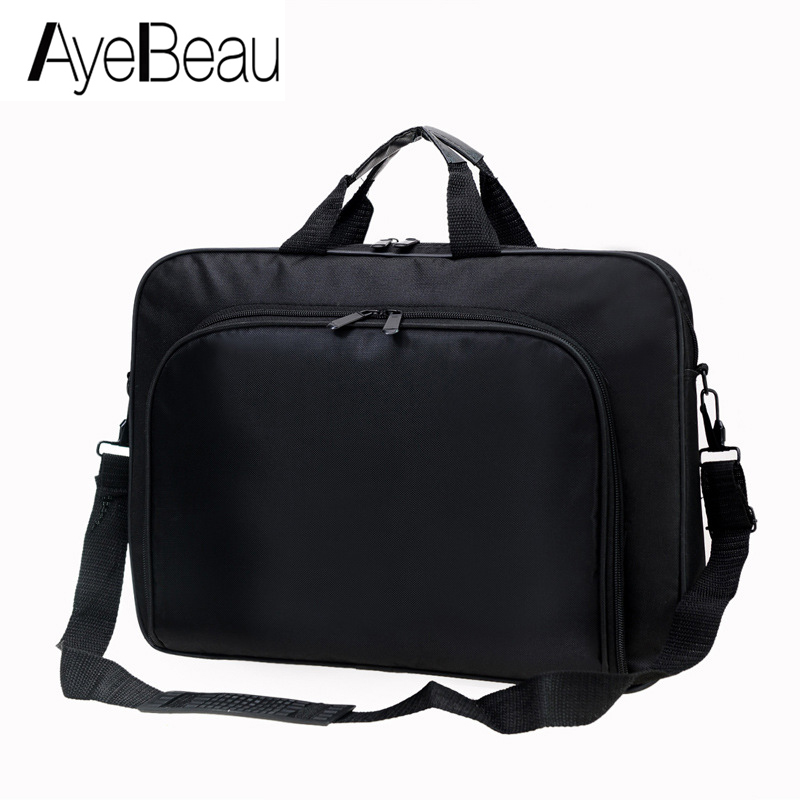 Portable Work Business Office Male Messenger Bag Men Briefcase For Document Laptop Computer Handbag 15.6 Tablet PC Under Satchel