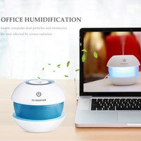 LED Ultrasonic Humidifier USB Purifier Aroma Aromatherapy Essential Oil Diffuser