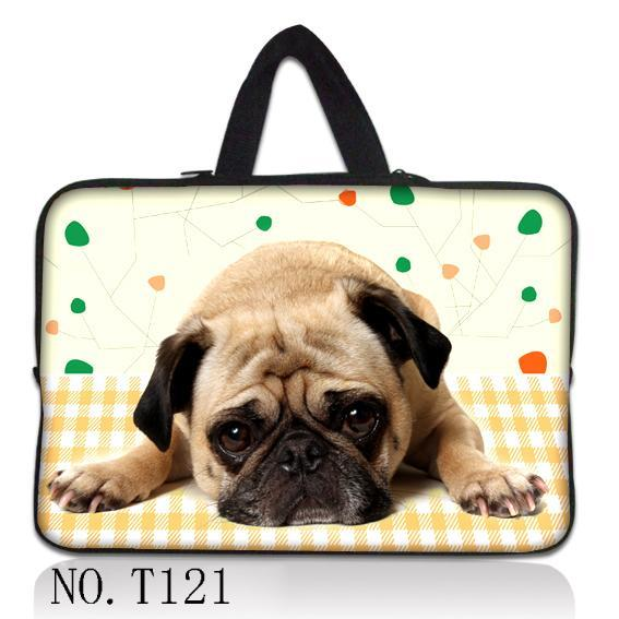Fancy Seeker Dog Laptop Sleeve Bag  Pouch Cover for 11 13 Macbook Air 12