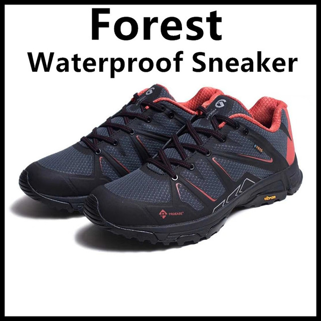 2018 New Xiaomi Proease Forest Waterproof V Bottom Outdoor Running Sneaker Shoes Anti-Slide-Shock Breathable For Man Woman